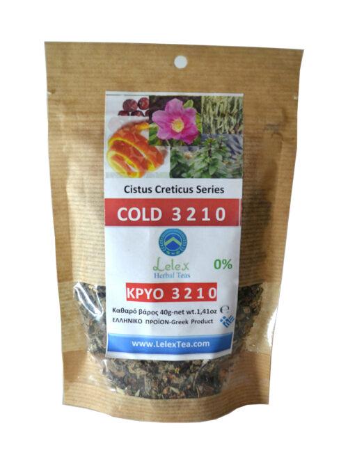 3 2 1 0 βοτανικό τσάι για το κρύο και τη γρίπη