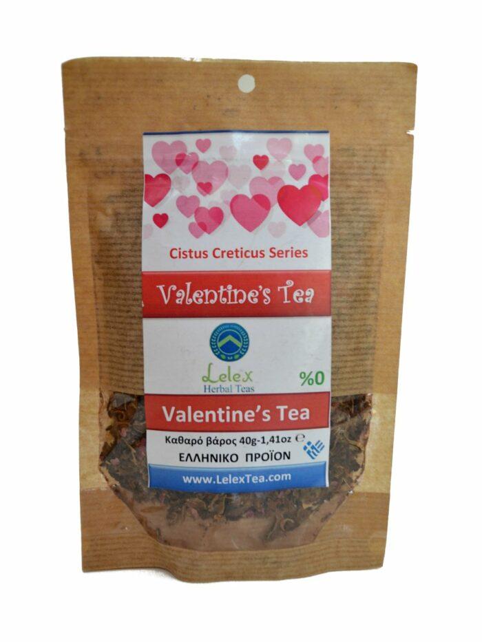 Valentine's Tea ελιξίριο του έρωτα